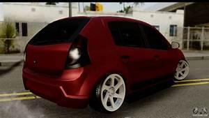 Dacia Sandero Low Tuning For Gta San Andreas