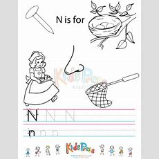 Alphabet N Practice Archives Kidspressmagazinecom