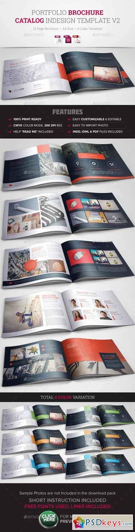 Free Indesign Portfolio Templates by Portfolio Brochure Indesign Template V2 10491396 187 Free