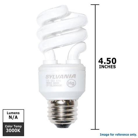osram sylvania 11w 120v compact fluorescent medium base