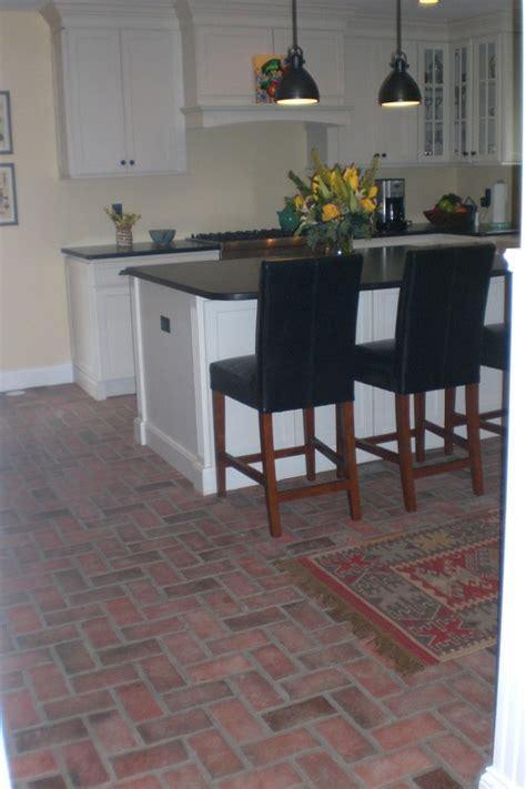 brick floors in kitchen kitchens inglenook brick tiles thin brick flooring 4886