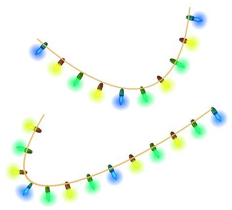 christmas decoration lights transparent