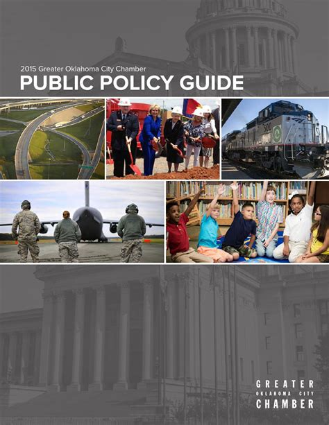 2015 Public Policy Guide by Greater Oklahoma City Chamber