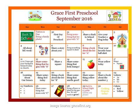 preschool themes planning sheet more exce devki samara 119 | fresh september activities for preschoolers september 2016 activity calendar grace first presbyterian presc 5871