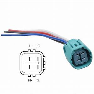Alternator Plug Splice In 4 Wire Replacement Harness