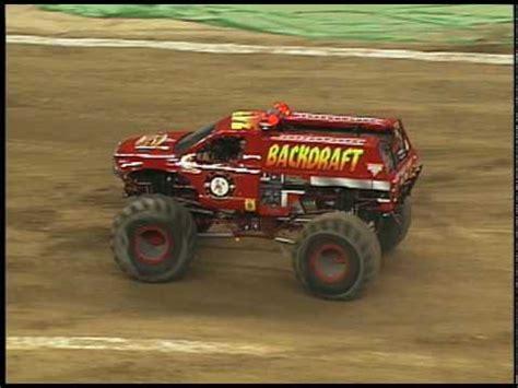 monster truck jam youtube monster jam backdraft monster truck in detriot 1 16 10