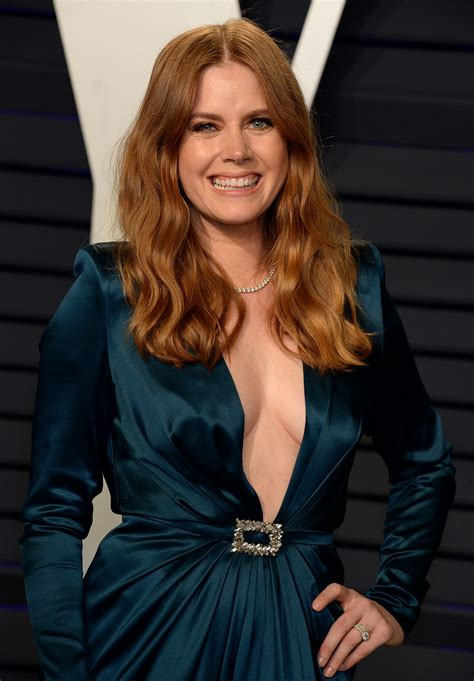 amy adams  fappening sexy tits  oscar party