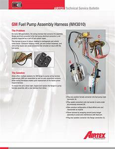 Gm Fuel Pump Assembly Harness  Wh3010