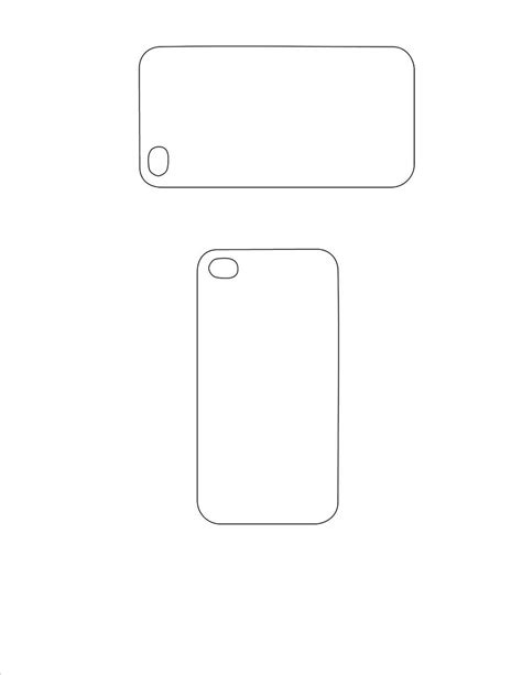 iphone case back template | Free to use in your Art only
