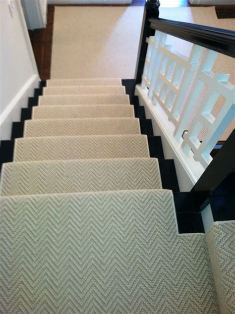 stair runner install boston ma contemporary staircase