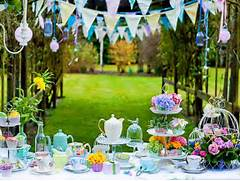 Garden Party Decoration Ideas by Outdoor Birthday Party Decoration Ideas Images Pictures Becuo