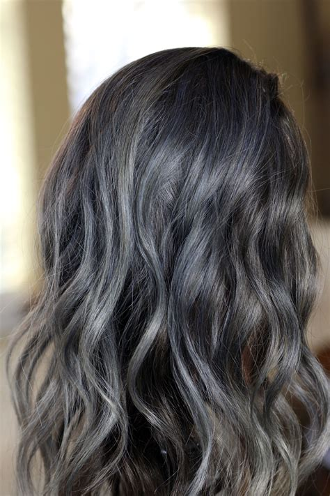 Blue Gray Hair Color Will Increase In Popularity In 2017