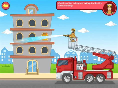 Community Helpers Firefighter Game Youtube