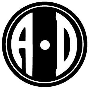 circle monogram font  create