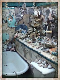 little mermaid bathroom navy wife pinterest