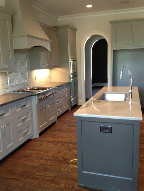 sherwin williams dorian gray cabinets  urbane bronze