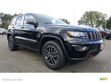 jeep trailhawk black 2017 black crystal pearl jeep grand cherokee
