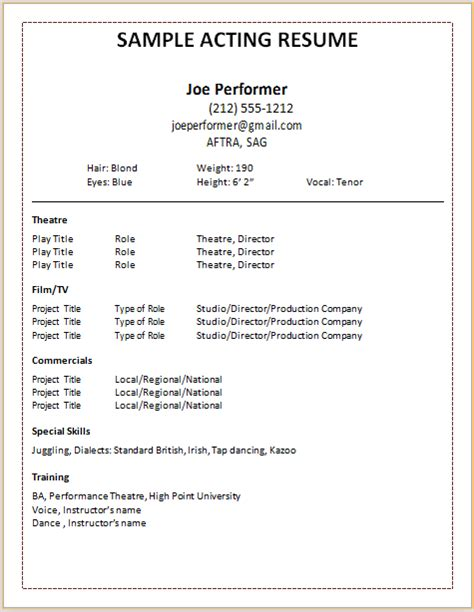 View Resume Format by Exle Of A Resume Format Modern Resume Exle
