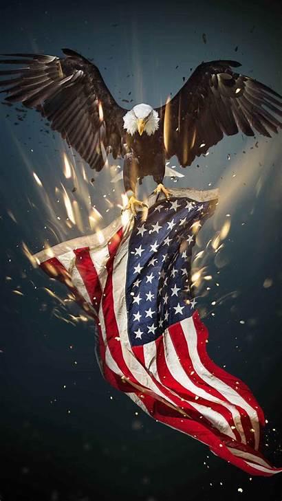 Eagle Flag American Usa Bald Iphone Patriotic