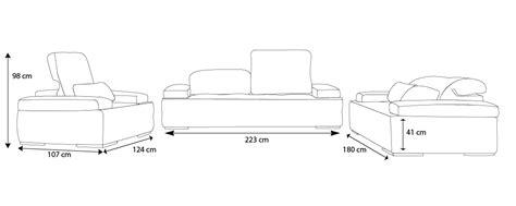 canapé hauteur assise 60 salon cuir nobel canapés 3 2 places fauteuil mobilier