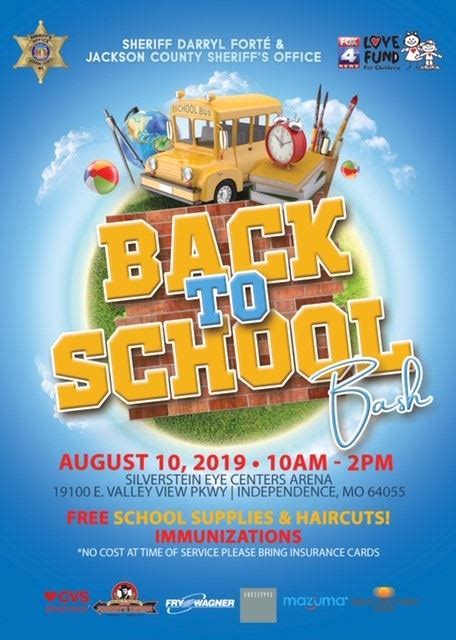 Office Supplies Jackson Ms by Back To School Bash Jackson County Mo