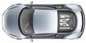 Voiture Vu De Haut : vue de dessus d 39 une voiture de sport bleue photographie vladimiroquai 18157127 ~ Medecine-chirurgie-esthetiques.com Avis de Voitures