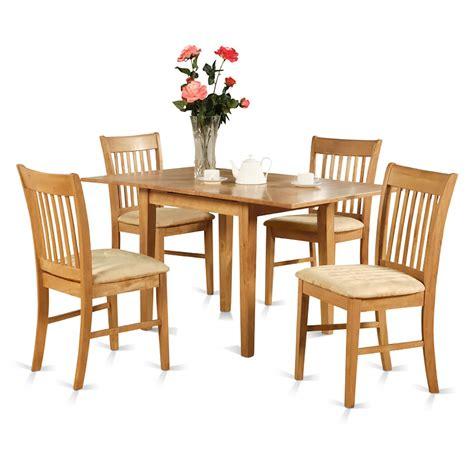 east west furniture oak dinette table    leaf