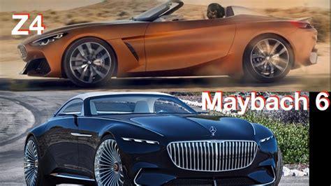 2019 Mercedes Maybach 6 Vs 2019 Bmw Z4 Concept