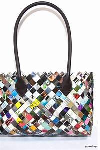Taschen Aufbewahrung Selber Machen : taschen selber machen aus zeitschriften candy wrapper bag basteln candy wrappers diy ~ Orissabook.com Haus und Dekorationen