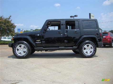 jeep sahara black black 2012 jeep wrangler unlimited sahara 4x4 exterior