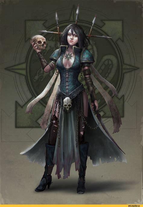 fandoms cultist alena busygina alpha legion warhammer