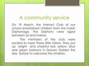 orphanage proposal