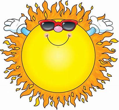 Summer Clip Clipart Nature Sun Clipartion Animated