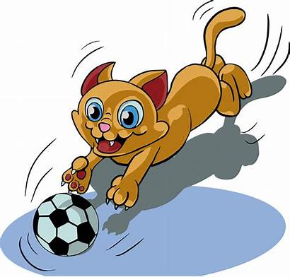 Cat Middle Kitty Clipart Transparent Pixabay Play