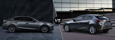 Hatchback Cargo Space Comparison by What S The Difference Between The 2018 Mazda3 4 Door The