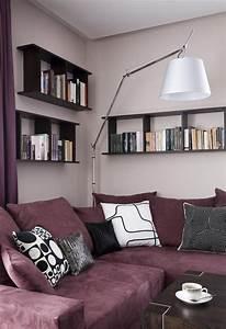 Flieder Farbe Wand : 29 ideen f rs wohnzimmer streichen tipps und beispiele ~ Markanthonyermac.com Haus und Dekorationen