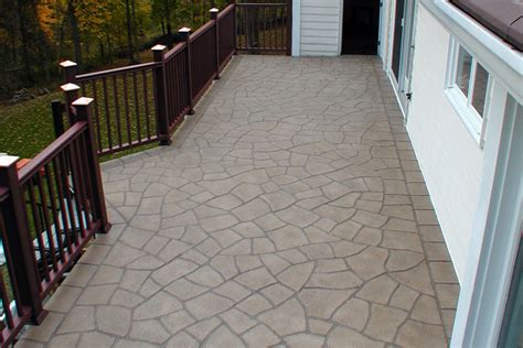 flooring options concrete patio images