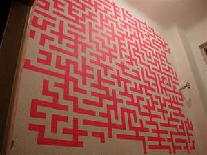 25 best ideas about tape art on pinterest masking tape With what kind of paint to use on kitchen cabinets for washi tape wall art diy