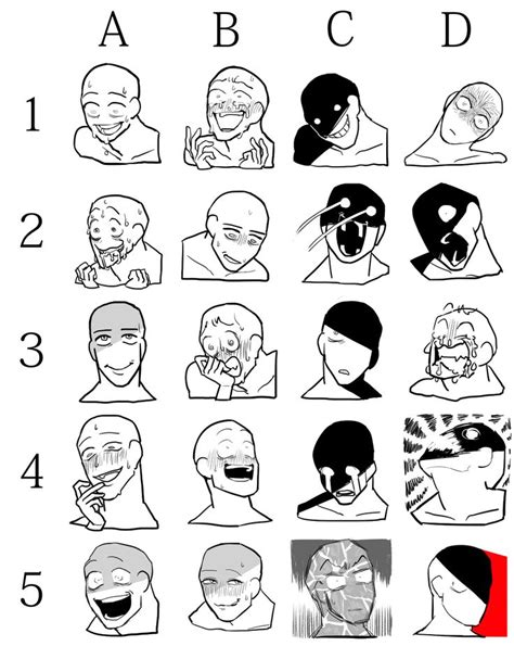 Meme Faces Tumblr - best 25 drawing meme ideas on pinterest draw your oc oc and drawing face expressions