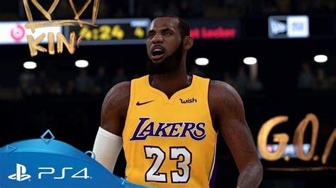 NBA 2K19   Gameplay Trailer   PS4 - YouTube