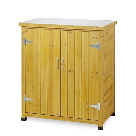 armadietto legno armadietto da esterno in legno con piano lavoro per