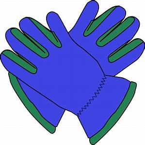 Glove clipart - Pencil and in color glove clipart