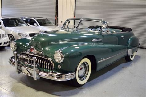 Quality Buick by Gorgeous 1948 Buick Series 56 C Convertible