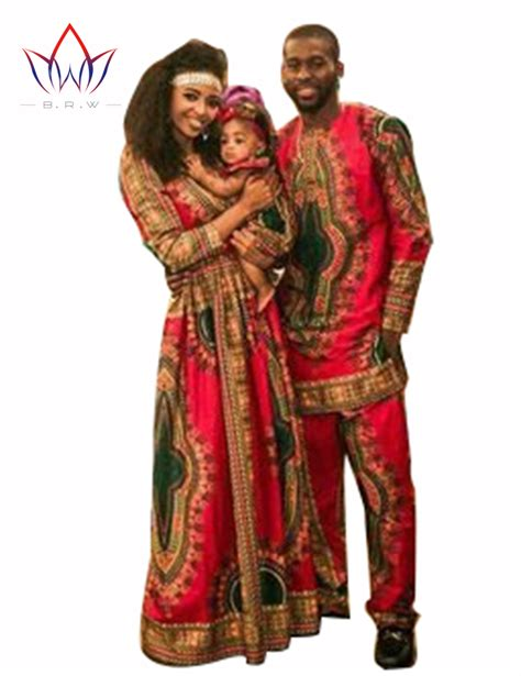 brw family parents baby clothing sets dashiki for family clothing bazin riche femme