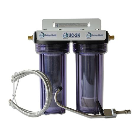 brushed nickel cabinet kitchen fluoride water filter for chlorine 600 contaminants