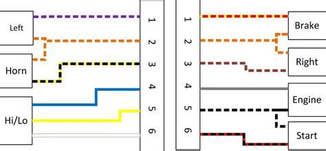 93 Dyna Wiring Diagram by Bromsljus Frambromsen