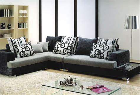 Cuscini Divano Neri : Divano Salotto Mega Sofa Tessuto Angolare Sofa Americano