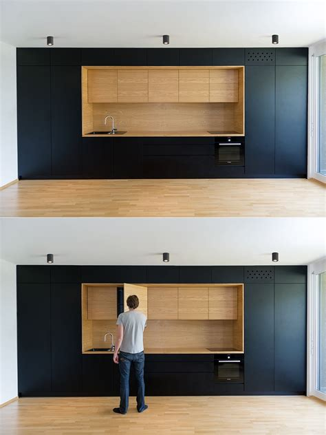 Am Agement Cuisine Black White Wood Kitchens Ideas Inspiration
