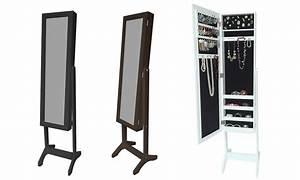 Armoire à Bijoux Miroir : armoire bijoux miroir groupon ~ Teatrodelosmanantiales.com Idées de Décoration