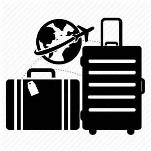 Airport, bag, tour, travel, travel bag, world icon | Icon ...